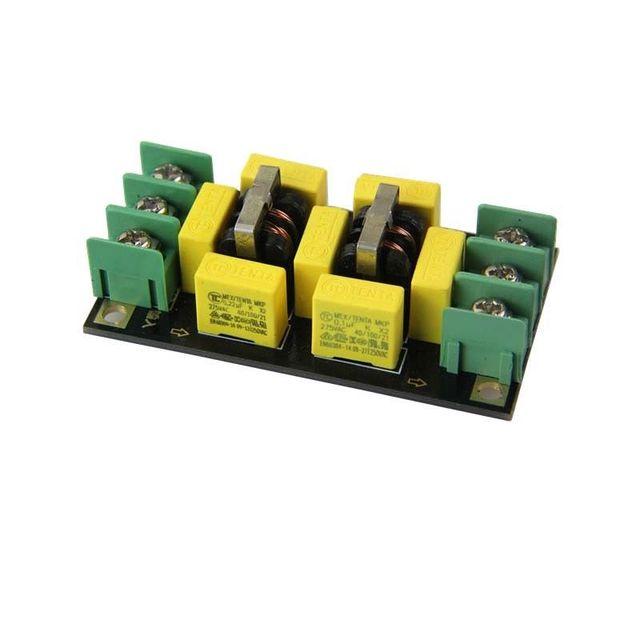 Dtjv 110V 220V AC Filtro di Alimentazione di Bordo 4A Filtro EMI Noise Suppressor Audio Purificatore Amplificatore Rumore Impurità purificatore