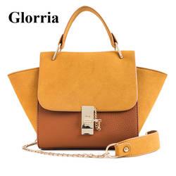 Glorria дизайнер бренда сумки Для женщин кожаная сумка Для женщин Tote Hobos женская сумка Crossbody девушка мини-сумка Sac