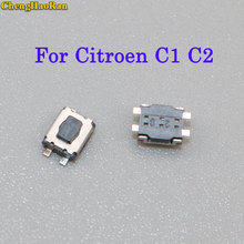 ChengHaoRan 50pcs-200pcs Micro Switch 3x4 For Citroen C1 C2 C3 C4 C5 C6 C8 REMOTE KEY FOB REPAIR SWITCH MICRO BUTTON цены