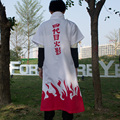Men Anime Naruto Cosplay Costumes Fourth Hokage Namikaze Minato Cape Outfit Cosplay Cloak Yondaime Hokage Costume 89