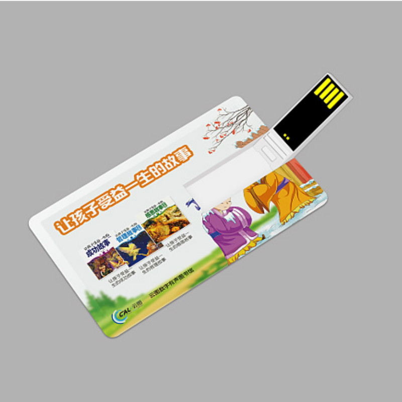 Logo Customize Free Personalized Photo Bank Card Super Slim USB Flash Drive 1GB/4G/8G/16G Pendrive 32GB Credit Card USB Memory