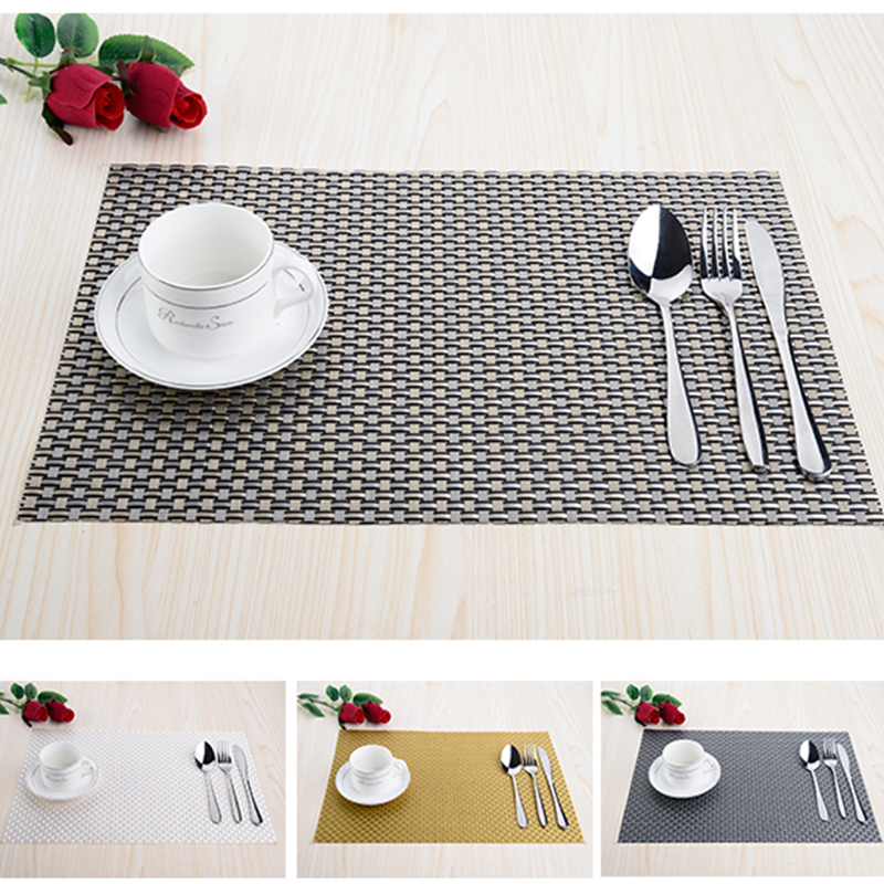 modern pvc kitchen dinning placemats for table mat manteles cup mats coaster water proof table cloth. beautiful ideas. Home Design Ideas