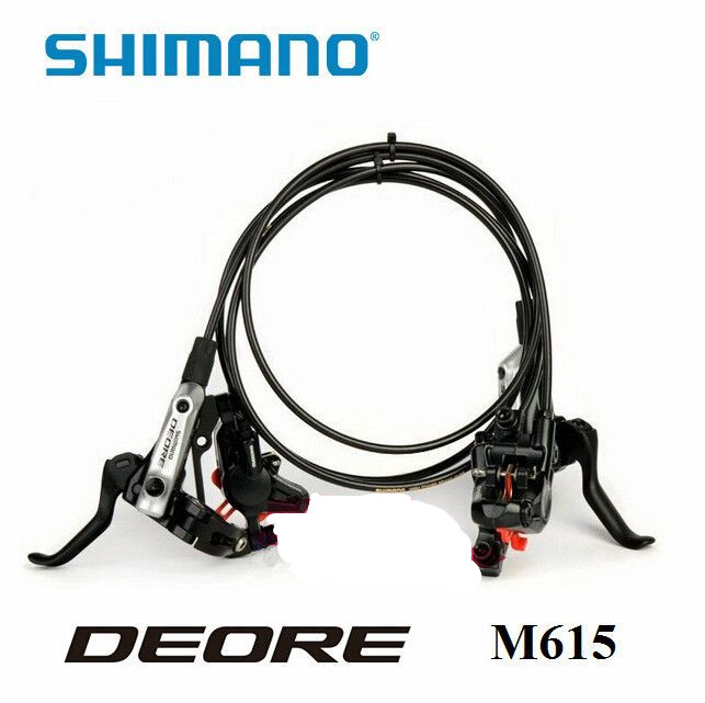 SHIMANO BR BL DEORE M615 Brake Lever & Caliper For Hydraulic Disc Brake bicycle bike oil brake parts shimano deore br m590 v brake caliper mountain bike v brakes aluminum v brake bicycle parts bicycle br m590