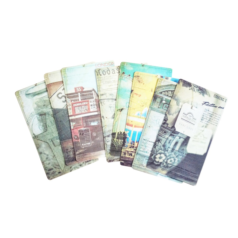 20pcs/pack Vintage Romantic Post Card Classic Paris Card Set Memory Postcards Can Be Mailed Greeting Card Office&School Supplie 6