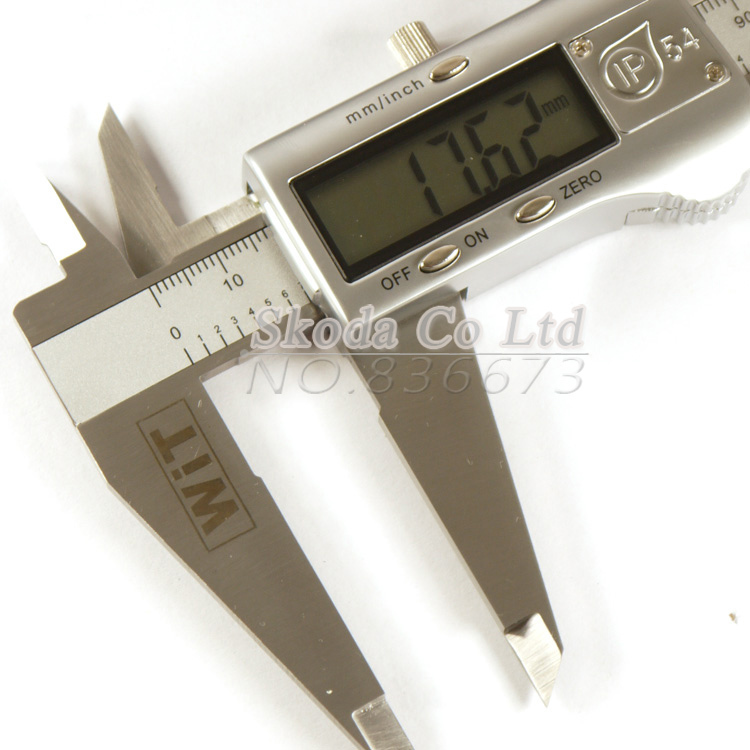 все цены на WIT-156 Accurately Measuring Metal Stainless Steel High Precision Digital caliper Calipers Metric conversion 0-150mm Caliper