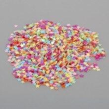 13000 шт 3 мм цветная Маленькая Звезда блестки и пайетки для шитья свадебного украшения DIY ткань/Дизайн ногтей/аксессуары для одежды