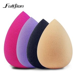 Image 3 - Fulljion קרן איפור ספוג איפור קוסמטי פאף אבקה רך מים Drop צורת יופי קוסמטי איפור ספוג יופי כלים