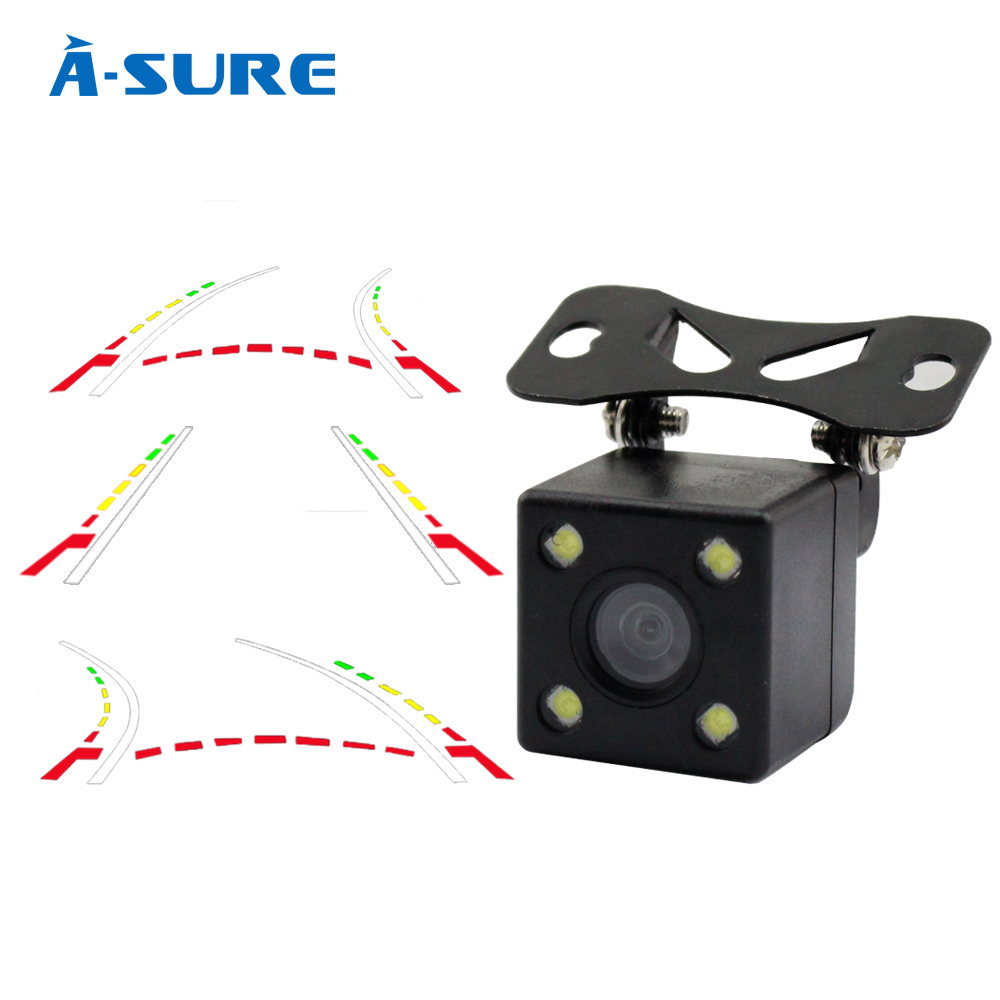 A Sure Advanced Dynamic Parking Track Rear View Reversing CCD Camera HD 170 Degree Night vision
