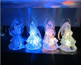 12pcs lot Angel LED Seven Color Changing Design Glow EVA Lamp Christmas Party Night Pub Ornament Child Gifts Toys L042 in Glow Party Supplies from Home Garden