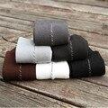 6 Par/lote Venta Caliente Hombres de Fibra de Bambú Calcetines Calcetines de Negocios 6 Colores para elegir