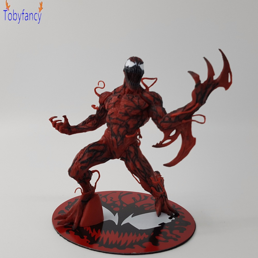 The Amazing SpiderMan ARTFX+ X MEN X-MEN Carnage Cletus Kasady Cartoon Toy Action Figure Model Doll Gift Anime Movie Spiderman недорого