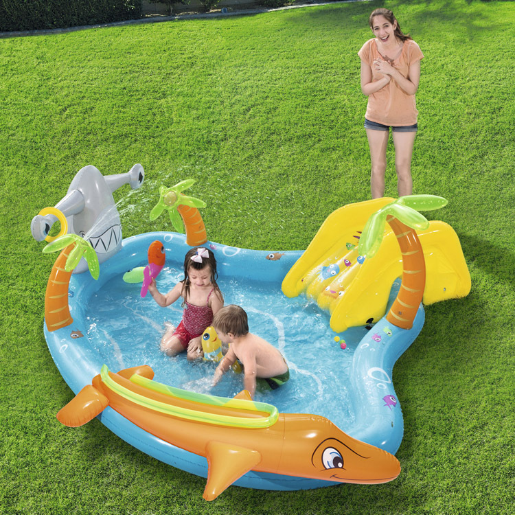 Pressure resistant and wear resistant marine inflatable marine ball thickening pool infant children's paddling pool 53067