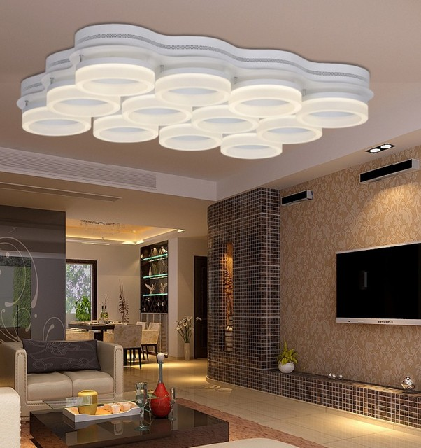 Superb Modern Led Lamp Ceiling Lights Surface Mounted Lighting Fixture For Home  Bedroom Living Room