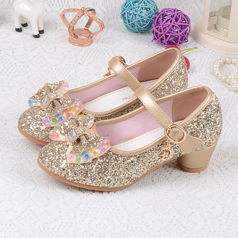 2017 Kids Girls Princess Sandals Wedding Shoes Girls ...