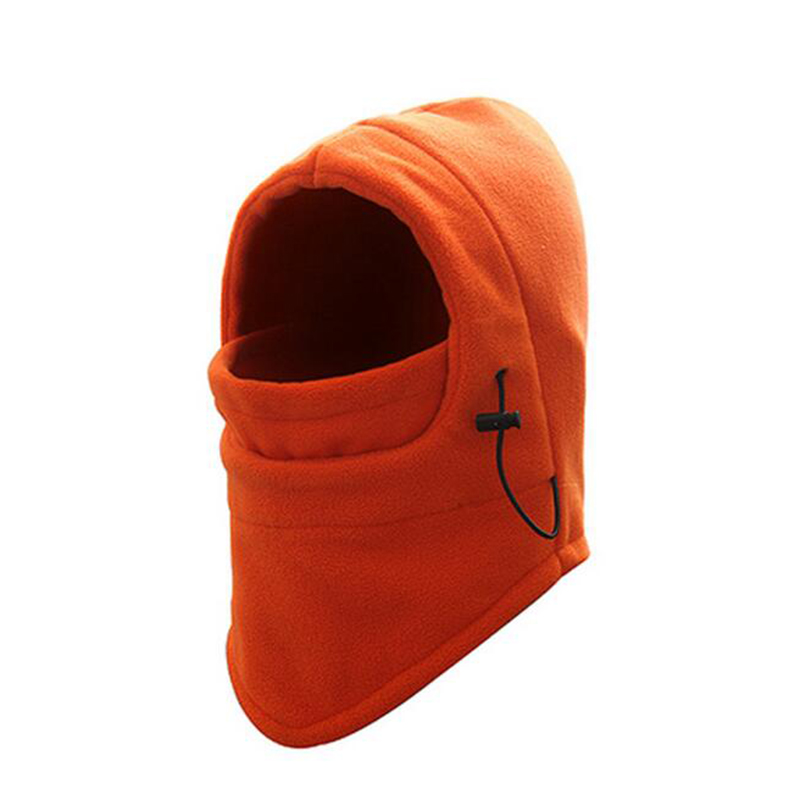 Outdoor Sports Windproof Neck Warm Motorcycle Cycling Cap Hat Fleece Face Hat Mask Winter Ski Snowboard