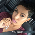 Cheap Human Brazilian Best Hair Layered Pixie Cut Wig Side Bangs Short Bob Wigs for Black Women Straight None Lace Wig