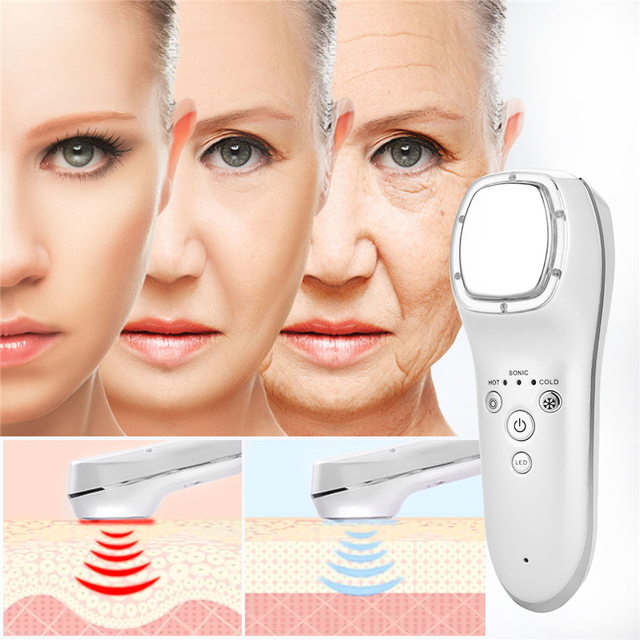 USB Rechargeable Facial LED Massager