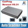 China Preço Barato Car Prog Carprog Programador 9.31 ECU Ferramenta De Reset Do Carro Do Painel Do Carro prog-V9.31Full 21 Adaptadores