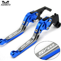 For Suzuki SV650 SV650S SV 650 650S 1999 2009 With SV650 LOGO Motorcycle Clutch Brake Lever