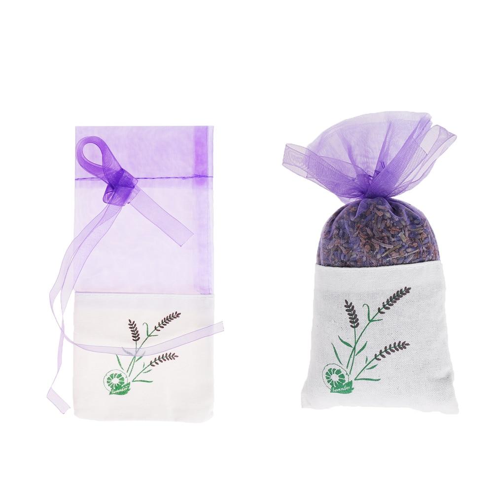 Sachet Handmade Gift Present Gerbera Floral Cotton Lavender Bag