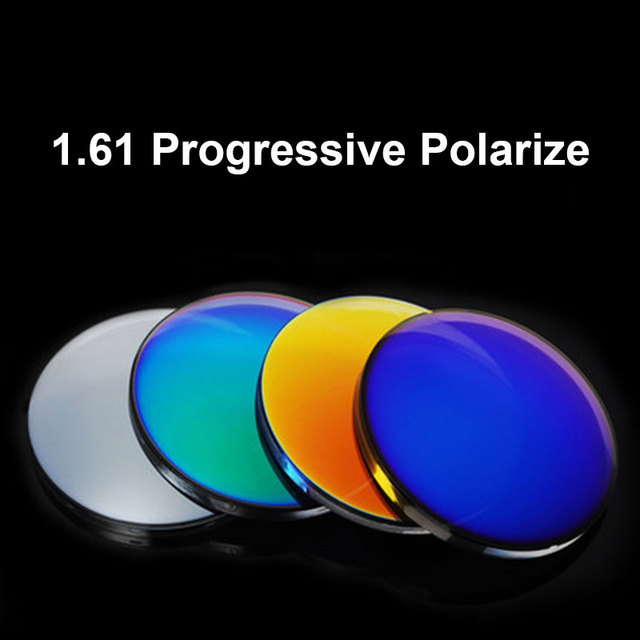 957f2142ab8 BAONONG 1.61 Progressive Polarized Mirror Coating Lenses Prescription Sun glasses  Optical Mirror Finish Lenses
