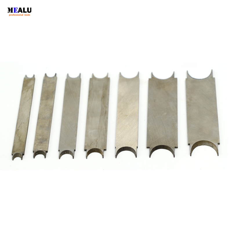 Automotive Rosary Bead molding cutter knife white steel knife for turning lathe round bead tool wooden bead tool 2 thick New in Turning Tool from Tools