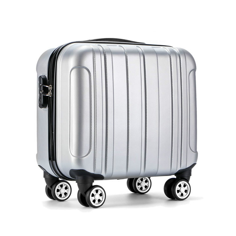 Hot Sell 16 Inch Rolling Luggage Suitcase Boarding Case Travel Luggage Spinner Cases Trolley Suitcase Wheeled Case LGX33