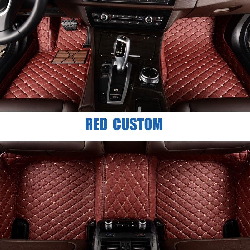 Custom Car Floor Mats For Mercedes Benz A C W204 W205 E