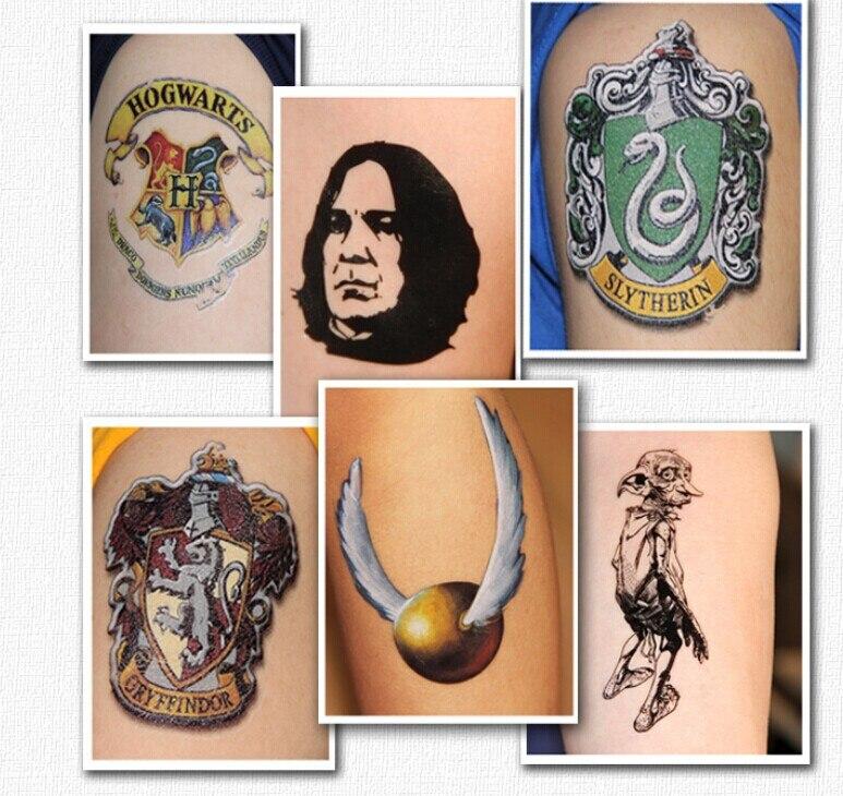 10 Pcs 13 Style Choisir Serpentard Harry Potter Rogue Colore Etanche