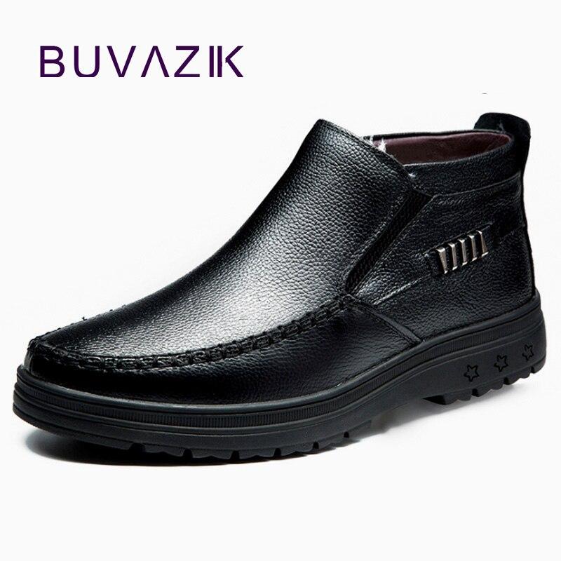 Velours Et Zapatos Neige Noir marron Chaud Bottes Coton Buvazik Véritable  Hommes Au Bottines En Travail Cuir Hiver Chaussures wqx6zZxgnv cb2c345a75f