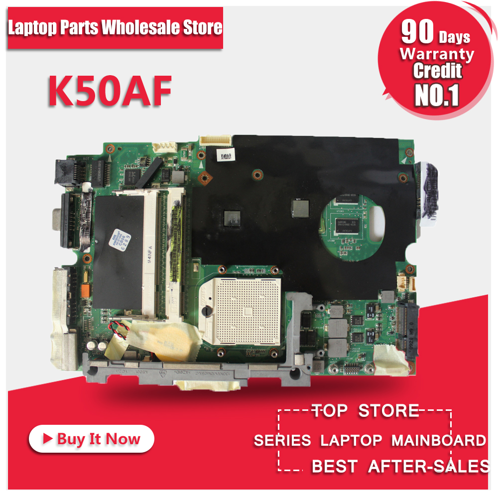 laptop motherboard for ASUS K40AB K40AD K40AF K50AB K50AD K50AF motherboard  free shipping new for asus 14 0 k40ad laptop motherboard 100