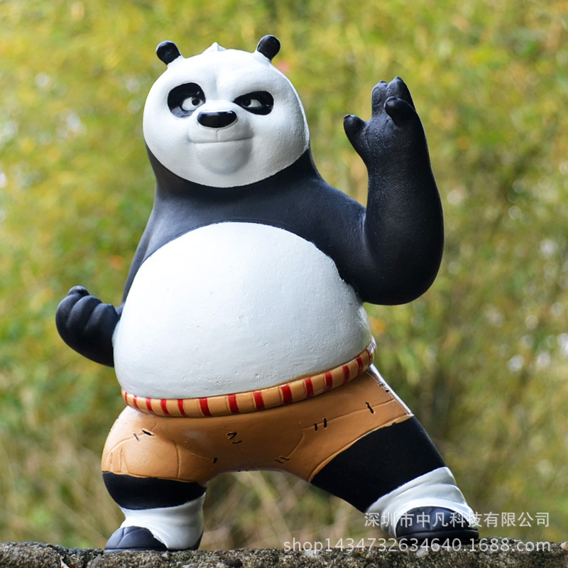 Hot ! NEW 19cm Kung Fu Panda Panda do Kung Fu OPortugal Piggy bank action figure toy Christmas gift doll kung fu panda 3 po piggy bank pvc action figure collectible model toy kids gift 18cm