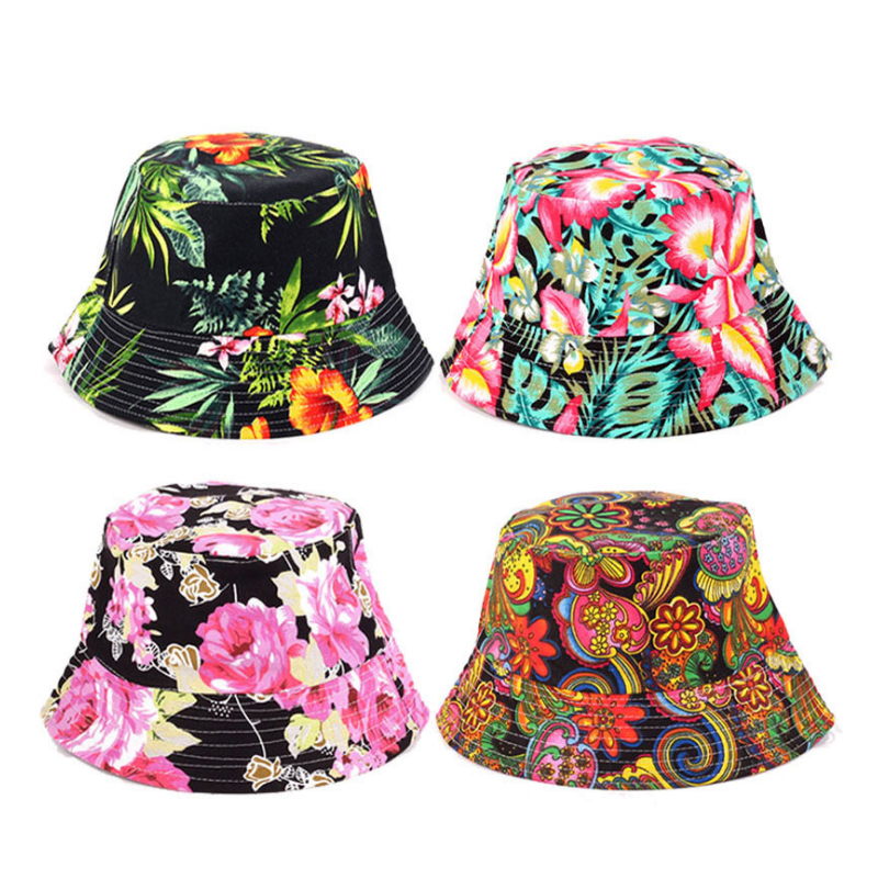 Bucket Cap Man Women Unisex Cotton Banana Hat Bob Caps Hip Hop Cool Outdoor Sports Summer Beach Sun Fishing Bucket Hats S6447