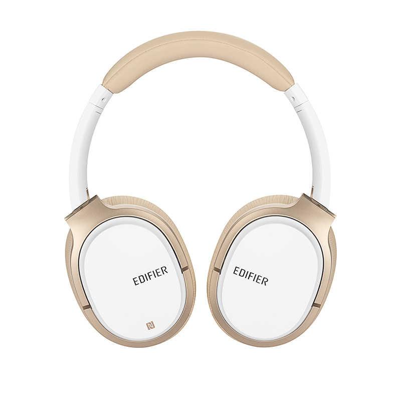 Edifier W830BT słuchawki Bluetooth, Over-Ear bezprzewodowe słuchawki, Stereo Hi-Fi zestaw słuchawkowy z mikrofonem i zdalnego dla telefonów, PC, stół