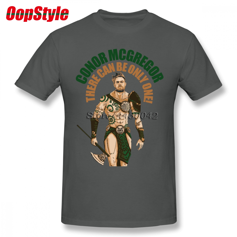 Men's Clothing Conor Mcgregor T-shirt For Men Dropshipping Short Sleeve Cotton Plus Size Custom Team Tee 4xl 5xl 6xl Diversified Latest Designs