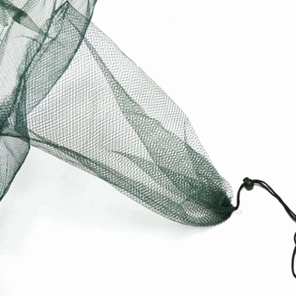 باليد الصب التلقائي الصيد صافي الروبيان قفص النايلون طوي كراب السمك فخ المصبوب المعاوضة الصب للطي الصيد شبكة 6 ثقوب