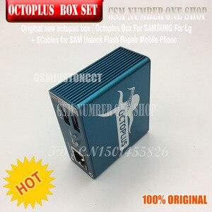 Image 3 - Originele nieuwe octoplus doos octopus box 6 in 1 set (DOOS + 5 PC KABEL) geactiveerd voor LG samsung Unlock Flash Reparatie Mobiele Telefoon