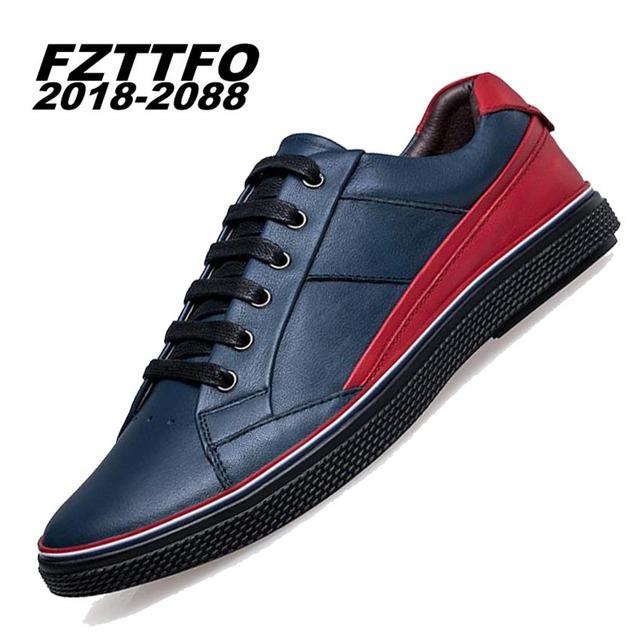 Puls Tamaño grande Hecho A Mano de Cuero Genuino Pisos hombres Mocasines Resbalón En los Zapatos del Barco Mocasines de Alta Calidad de la Marca de Conducción Zapatos K306