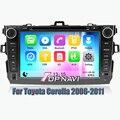 Wince 6.0 Dvd-плеер Автомобиля Система Навигации GPS Радио Стерео для Toyota Corolla 2006 2007 2008 2009 2010 2011 с Бесплатным SD карты