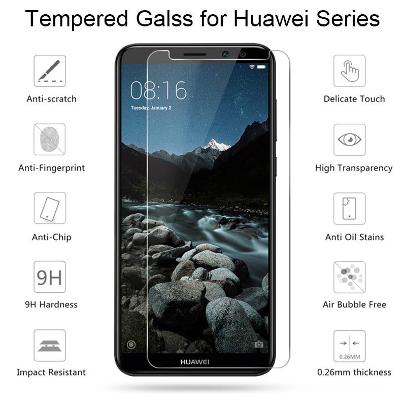 2pcs Screen Protector Glass For Huawei Mate 20 Lite Clear Tempered Glass For Huawei Mate 10 9 20 Lite 10 Pro Protective Film (4)