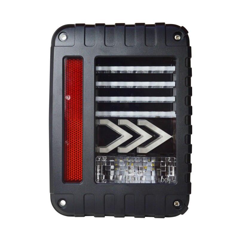 СЗГ-JT04 2018 горячие продажи американская версия LED задний фонарь для джип вранглер светодиодные задние свет для 4 x 4 бездорожью из светодиодов сигнала/стоп-сигнал для автомобиля