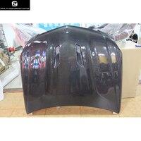 W204 Real C63 AMG Carbon Fiber Fiber Engine Hoods Auto Car Bonnet For Mercedes Benz W204 C63 Black Series 12 14