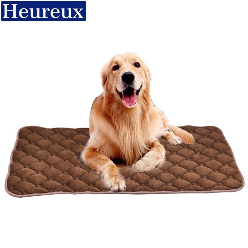 Heureux chien lit pour les grands et petits chiens d'hiver pet lit épais chien tapis pour chiot lit chaud pet couverture pour chien maison et chat lit