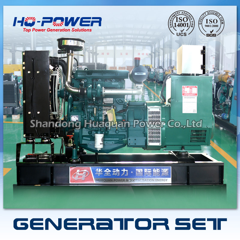 40kw 50kva self-contained power generator weichai deutz engine ...