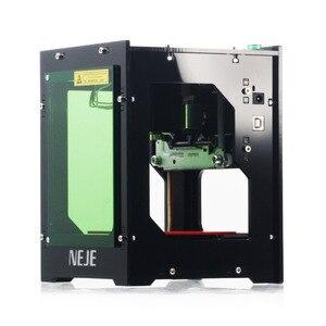 Image 2 - Neje 2020 venda quente novo 3000mw 445nm ai gravador a laser roteador de madeira diy desktop cortador a laser impressora gravador máquina corte