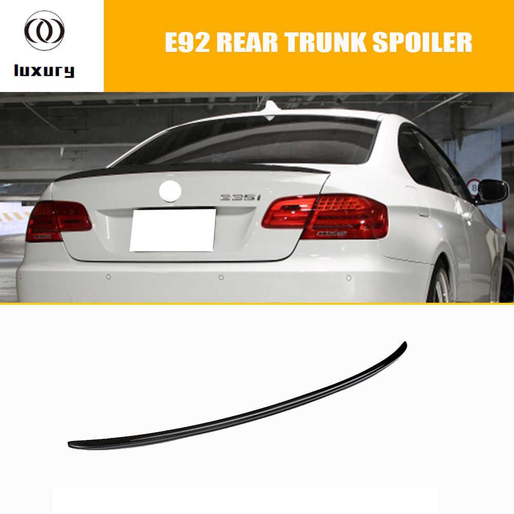 M3 Style E92 Carbon Fiber Rear Duck Spoiler for BMW E92 Coupe 320i 325i  328i 330i 335i 320d 325d 330d 335d M3 2 Door 2005 - 2011