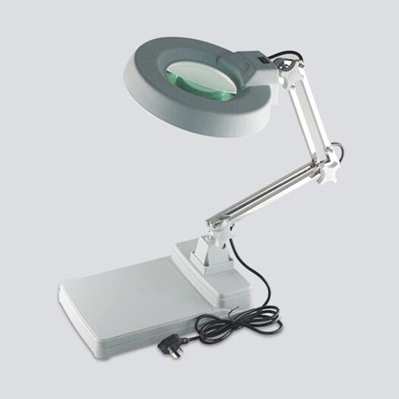 Table Magnifier With Backlight Folding Loupe Glasses For Electronic Maintenance Amplificador Pantalla Movil