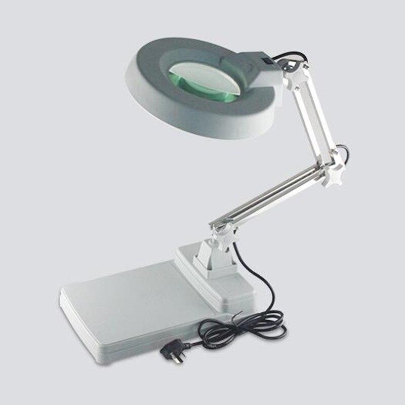 Здесь можно купить  Table Magnifier With Backlight Folding Loupe Glasses For Electronic Maintenance Amplificador Pantalla Movil  Инструменты