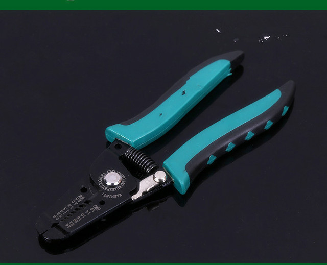 Portable Wire Stripper Pliers Crimper Cable Stripping Crimping ...