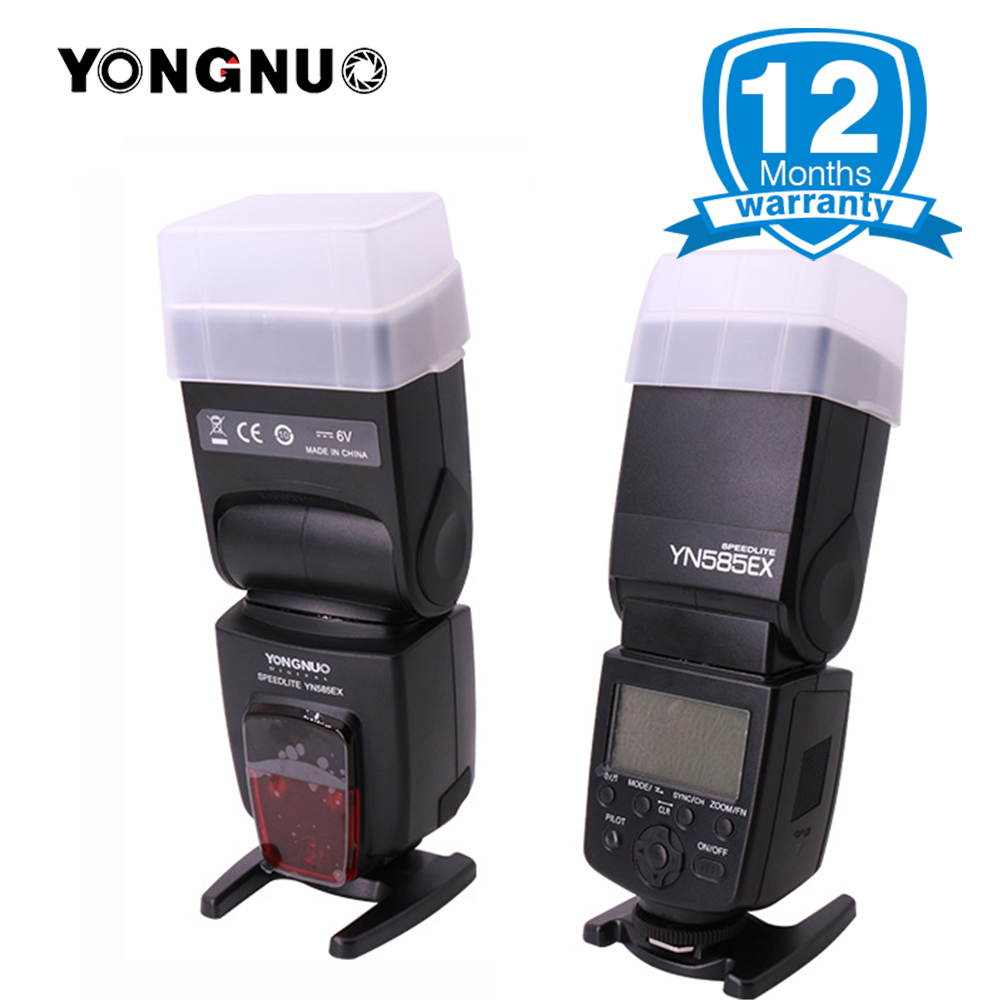 YONGNUO Official YN585EX Wireless Flash Speedlite for Pentax K-70 K-50 K-1 K-S1 K-S2 K3II K5 K50 KS2 K100 DSLR Camera new yongnuo flash yn585ex p ttl wireless flash speedlite for pentax k 70 k 50 k 1 k s1 k s2 k3ii k5 k50 ks2 k100 camera